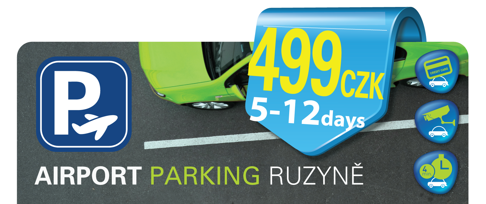 AIRPORT PARKING RUZYNĚ Logo