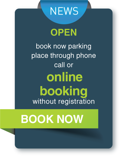 Book airport parking now